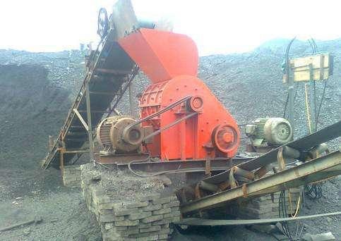 煤矸石粉碎机现场
